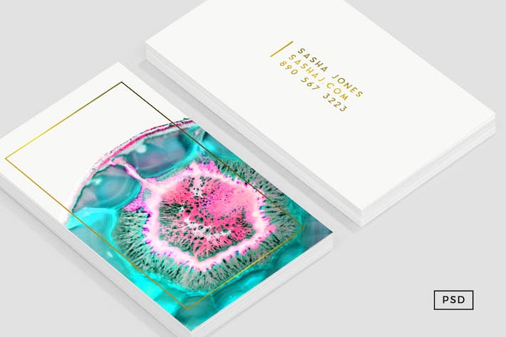 Thumbnail for Agate Business Card Template