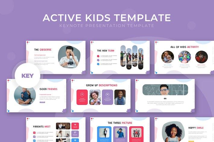 Active Kids - Keynote Template