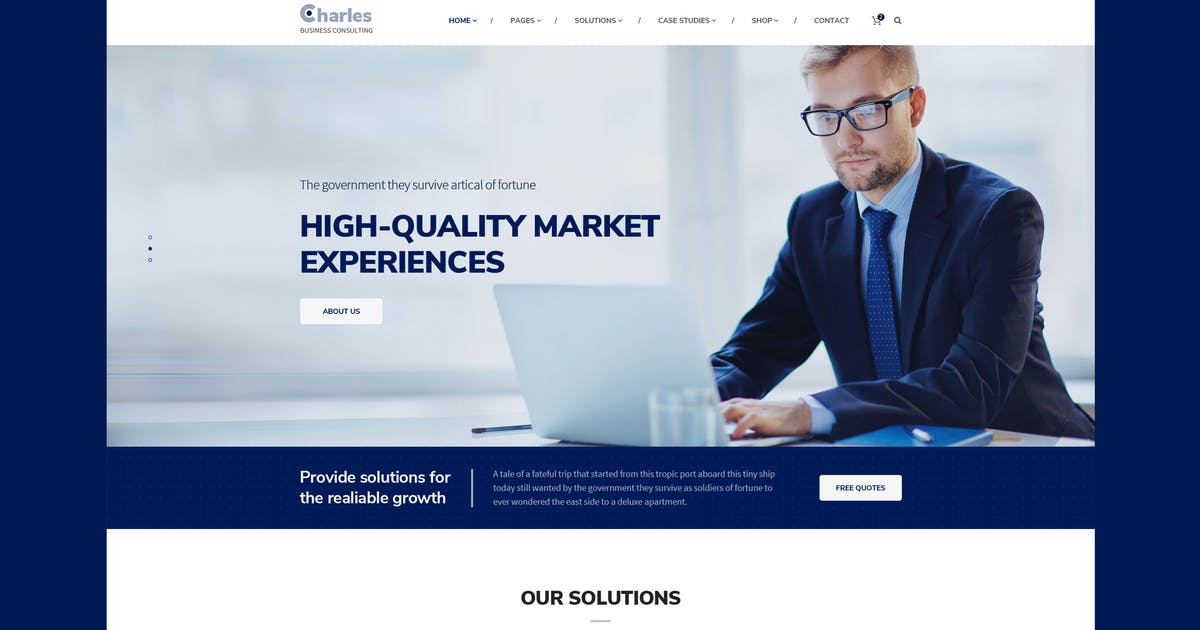 Download Charles- Business-Consulting HTML Template by CreativeGigs
