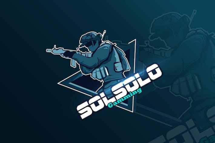 Thumbnail for Call Of Duty  Mascot & eSports Gaming Logo