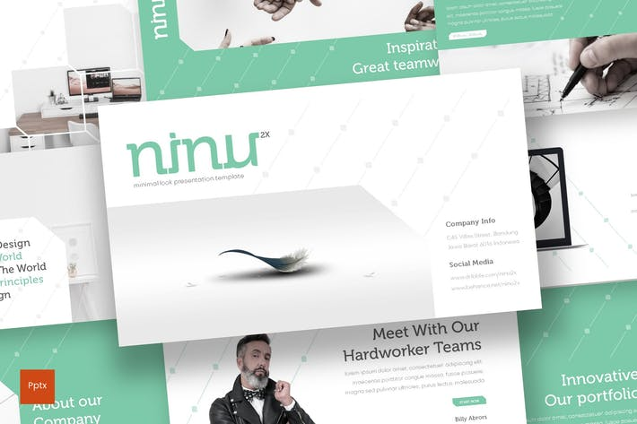 Thumbnail for Ninu - Powerpoint Template