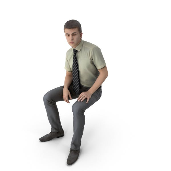 Thumbnail for Businessman Sitting