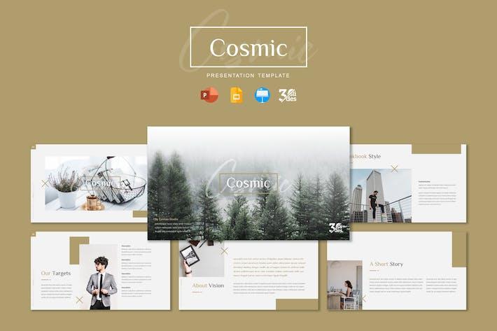 Thumbnail for Космический - Шаблон презентации