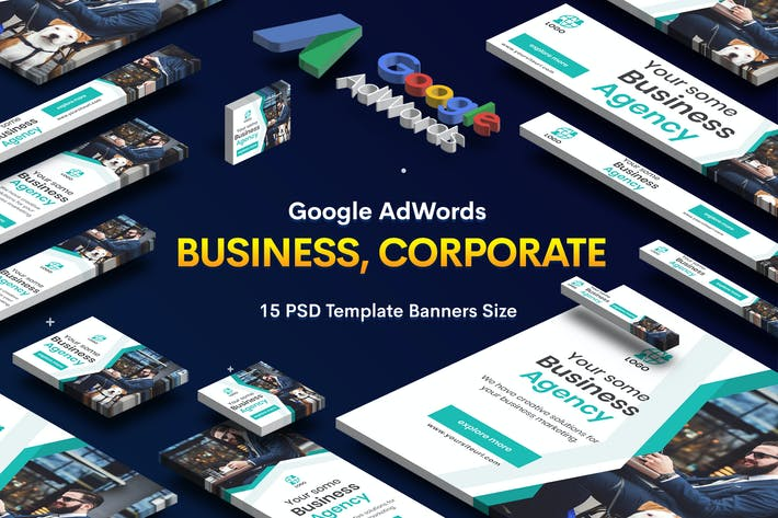 Thumbnail for Business, Corporate Banners Ad