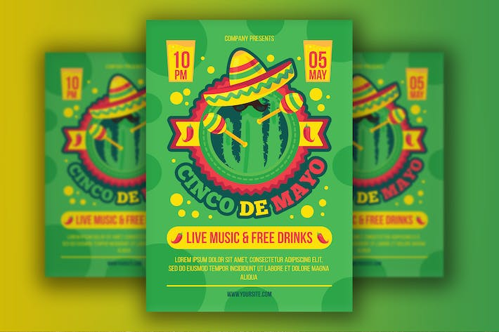 Thumbnail for Cinco De Mayo Poster