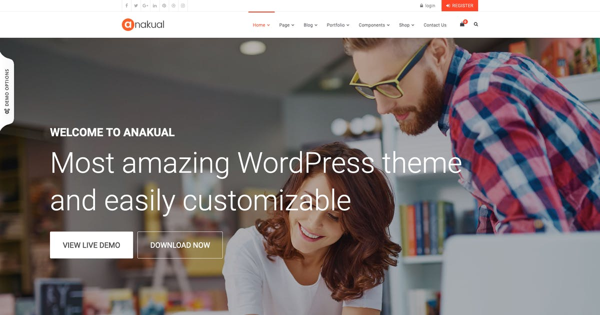 Download Anakual – Corporate and Creative WordPress Theme by cththemes