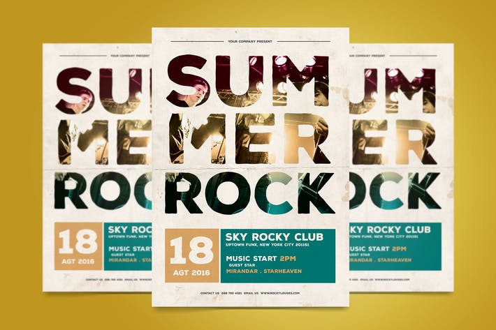 Thumbnail for Summer Rock Flyer