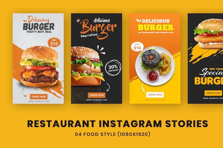 Restaurant Instagram Stories