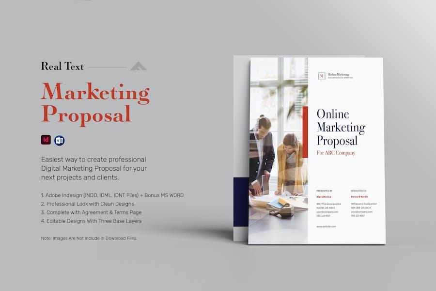 Digital Marketing / Social Media Proposal