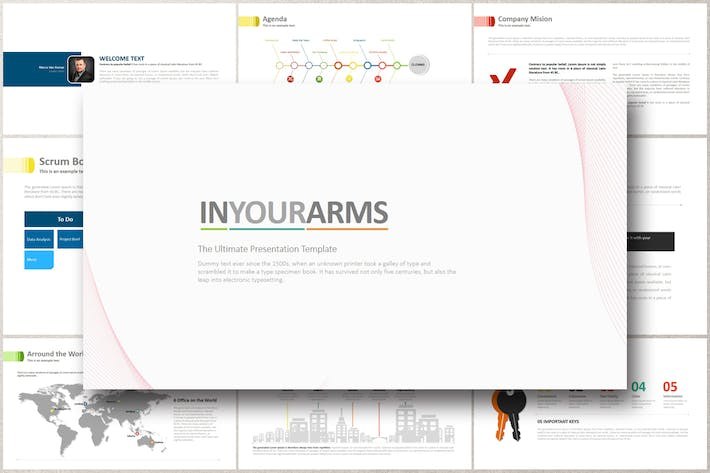 Thumbnail for IN YOUR ARMS Powerpoint