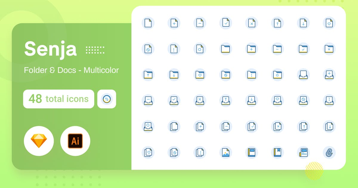 Download Multicolor Senja - Folder & Document by sudutlancip