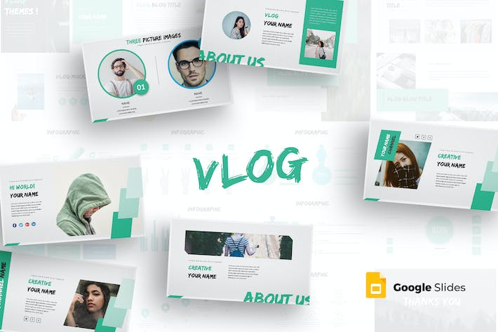 Vlog - Google Slides Template