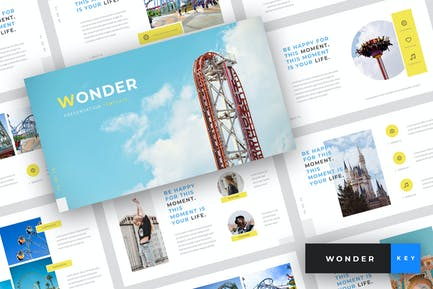 Wonder - Шаблон Keynote ТеТема парка
