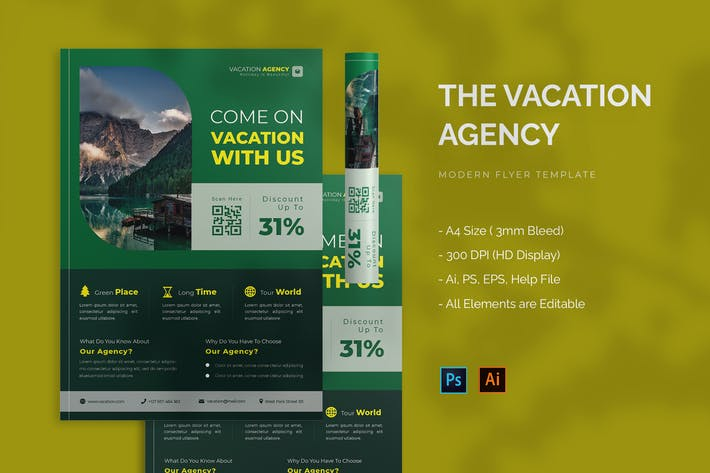 Vacation Agency - Flyer