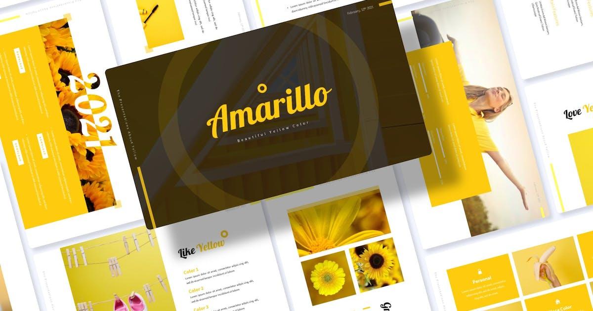Download Amarillo | Google Slides Template by Vunira