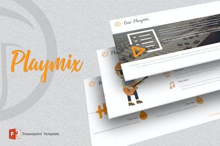 Playmix - Music Powerpoint Template
