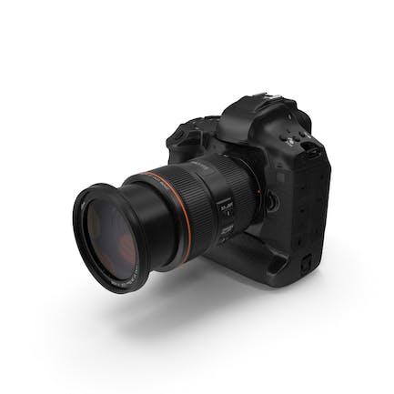 Cámara réflex digital de una sola lente con zoom
