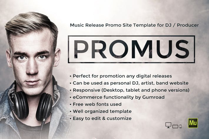 Thumbnail for Promus - DJ / Producer Music Template