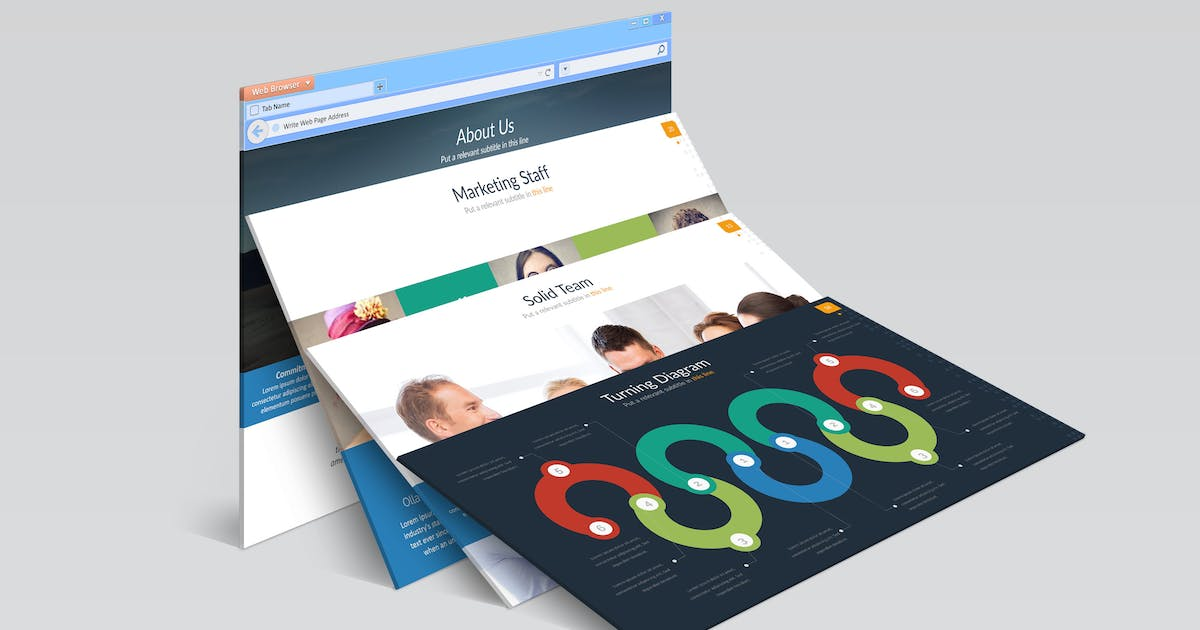 Download Bromo Powerpoint Template by Artmonk