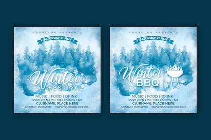 Winter Festival Winter BBQ