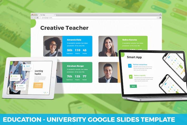 Thumbnail for Education - University Google Slides Template