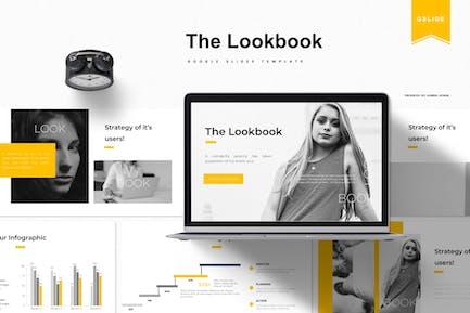 The Lookbook   Google Slides Template