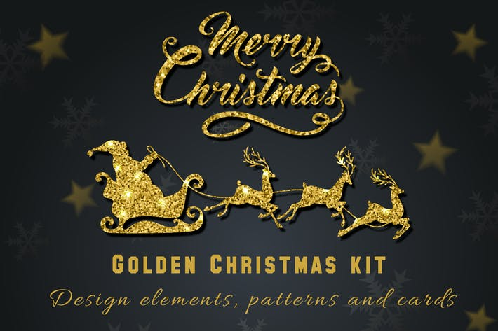 Thumbnail for Golden Christmas Kit