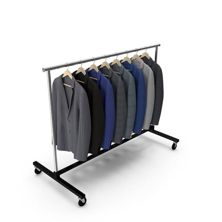 Suits Clothing Rack