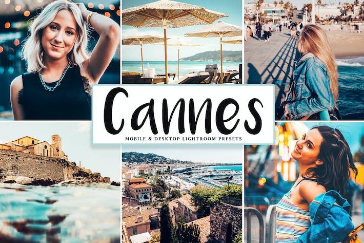 Thumbnail for Cannes Mobile & Desktop Lightroom Presets