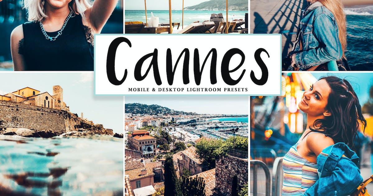 Download Cannes Mobile & Desktop Lightroom Presets by creativetacos