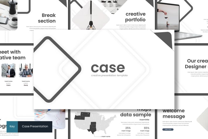 Thumbnail for Case - Keynote Template