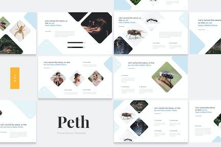 Peth - Schädlingsbekämpfung Google Slides Vorlage