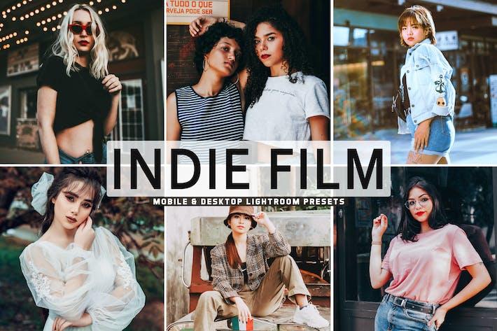Thumbnail for Indie Film Mobile & Desktop Lightroom Presets
