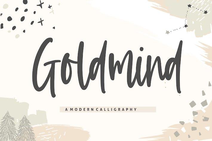 Thumbnail for Goldmind YH - Handwritten Font