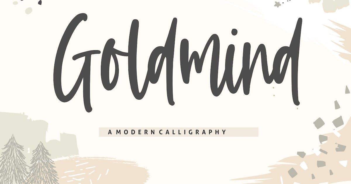 Download Goldmind YH - Handwritten Font by GranzCreative