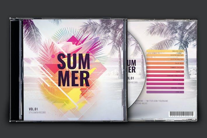Thumbnail for Summer CD Cover Artwork