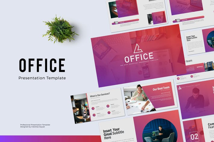 Thumbnail for OFFICE - Powerpoint Template