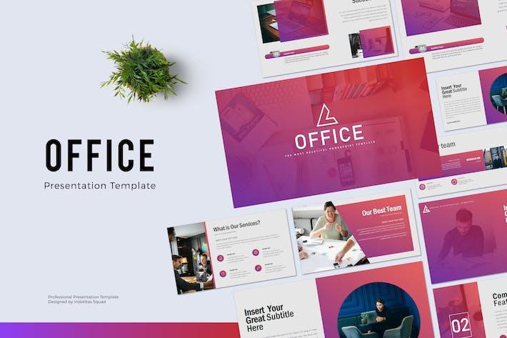Thumbnail for OFFICE - Шаблон Powerpoint