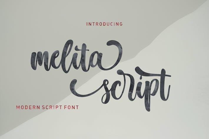 Thumbnail for Melita Script
