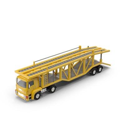 Cartoon Car Carrier Truck