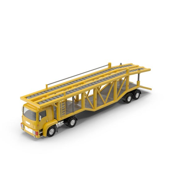 Thumbnail for Cartoon Car Carrier Truck