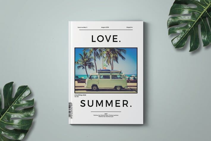 Thumbnail for Love.Summer Magazine Template
