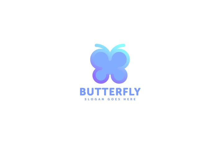 Thumbnail for Butterfly Logo Template
