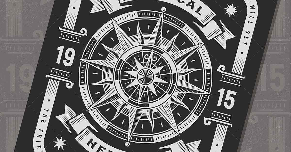 Download Vintage Nautical Heritage Typography by iatsun