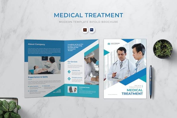 Medical Treatment Bifold Brochure