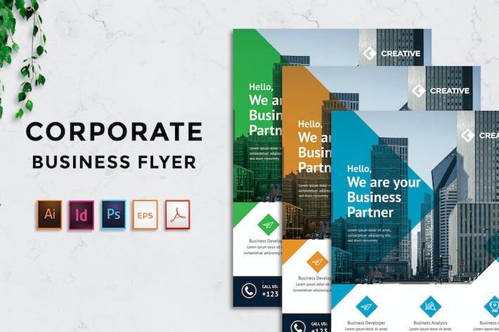 Thumbnail for Rantautemp - Creative Corporate Flyer vol 2