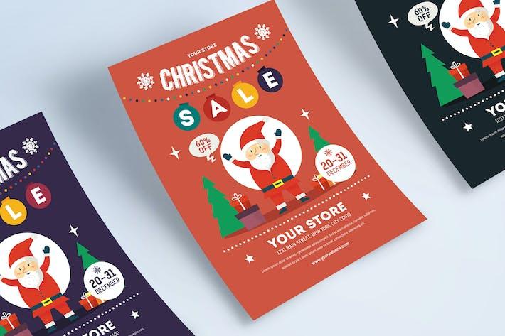Thumbnail for Christmas Sale Flyer