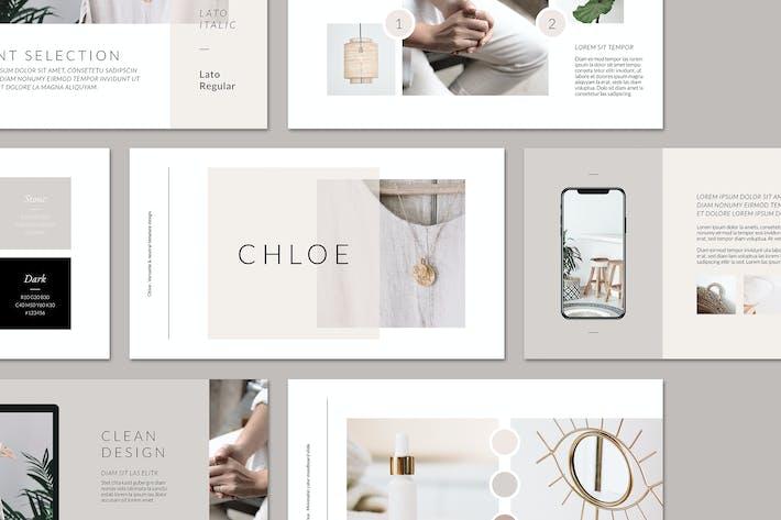 Руководство по торговой марке CHLOE PowerPoint