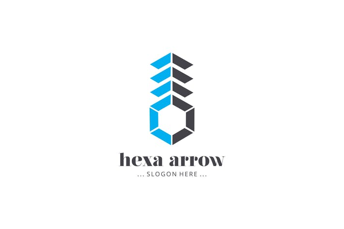 Thumbnail for Hexa Arrow Logo