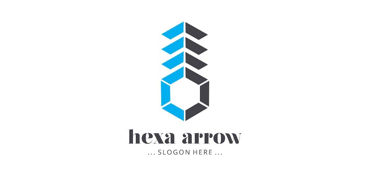Download Hexa Arrow Logo by graphix_shiv